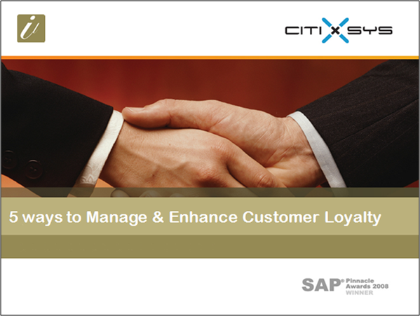5 ways to Enhance and Manage Customer Loyalty