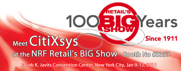 Discover CitiXsys at NRF's Big Show 2011