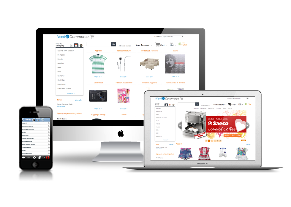 iVend eCommerce Banner