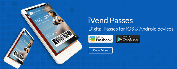iVend Passes for Apple iPhones or Android